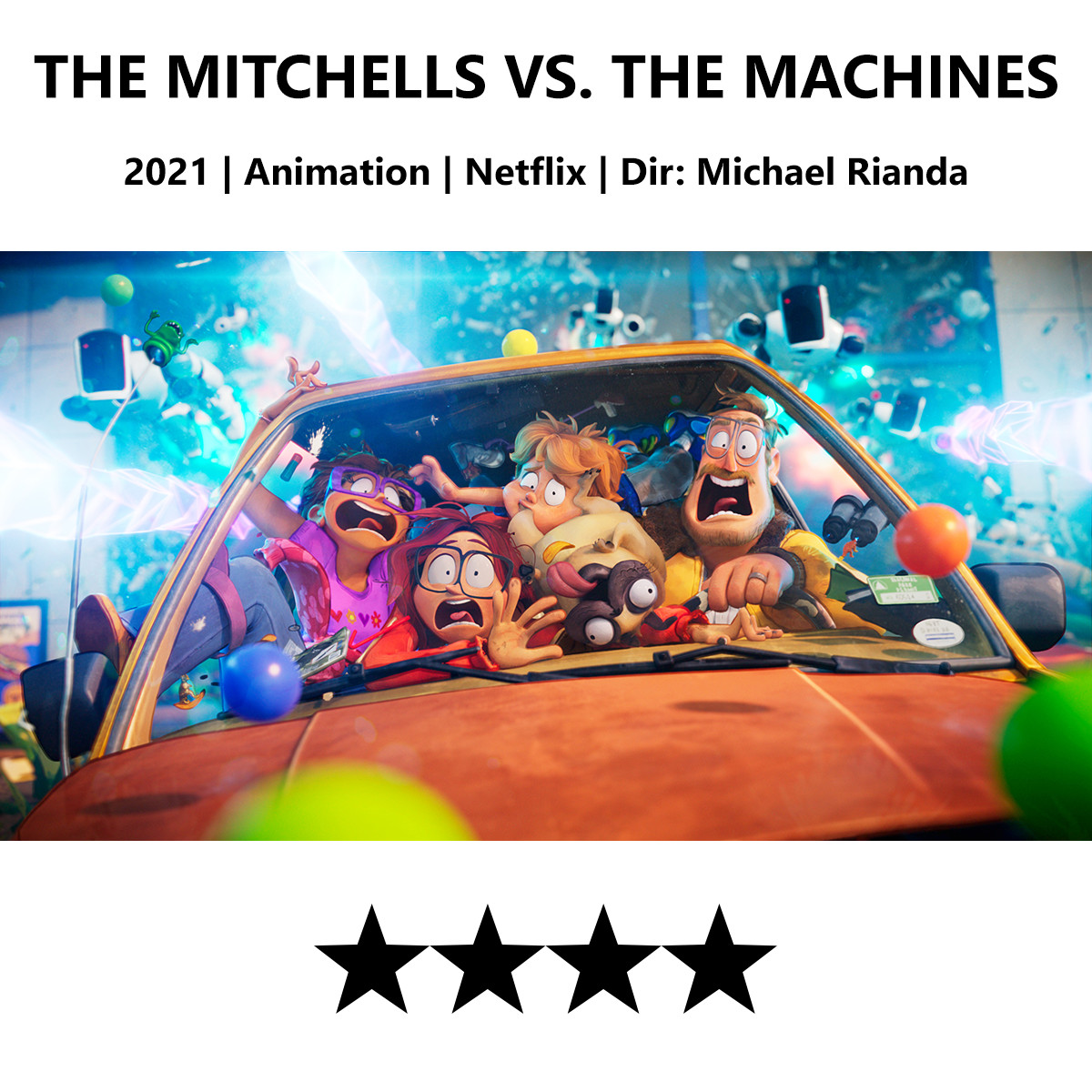 The Mitchells vs the Machines Poster